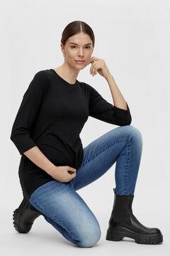 Womensecret Camiseta maternity negro