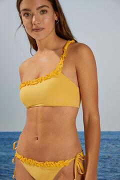 Womensecret Patterned flounced bikini bottoms printed