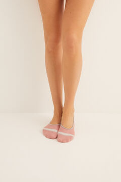 Womensecret Invisible socks pink