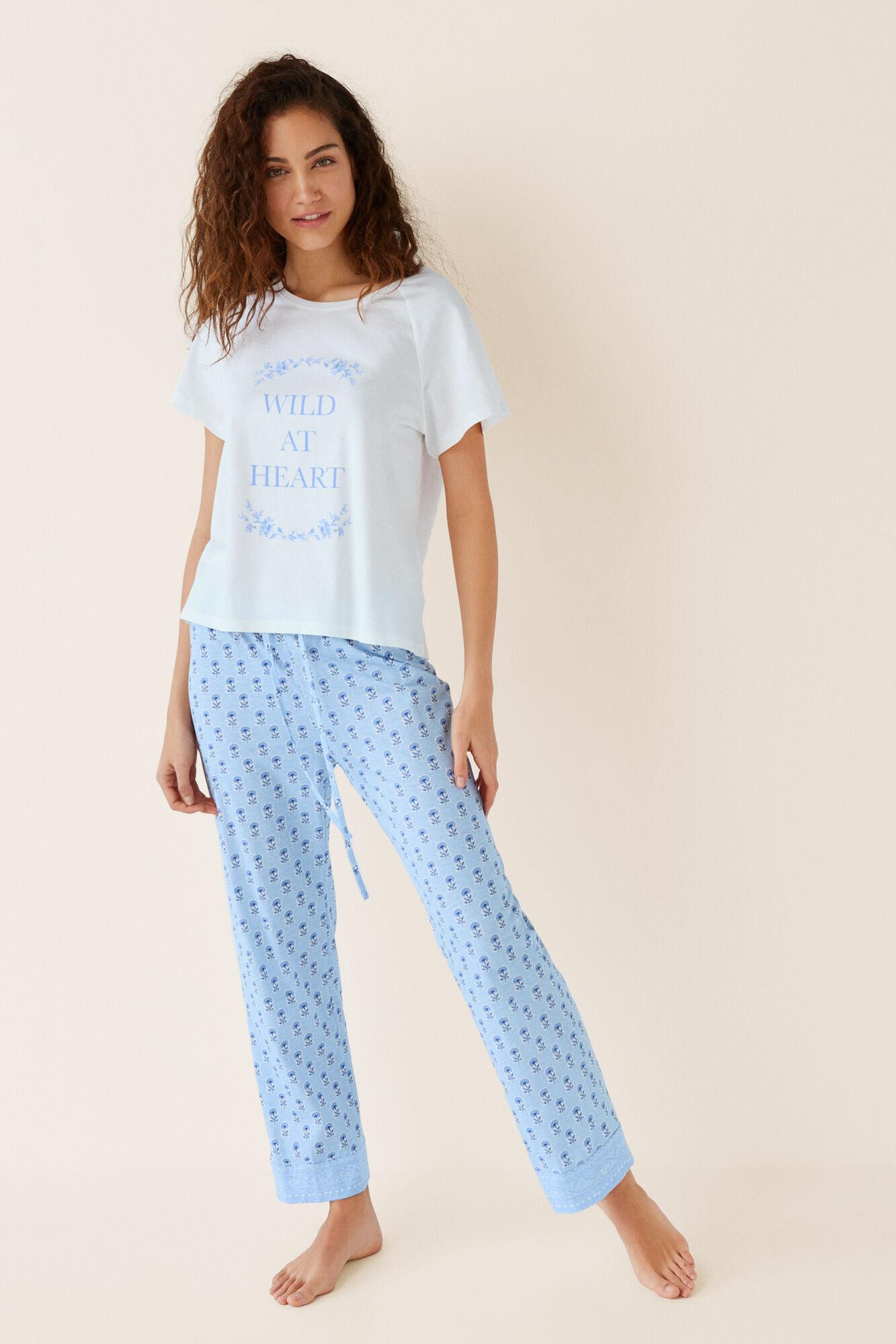 fdc1a3c42d Long blue cotton