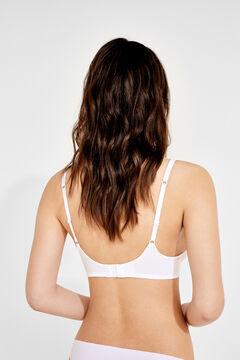 Womensecret BH mit Bügel und Polsterung Weiß