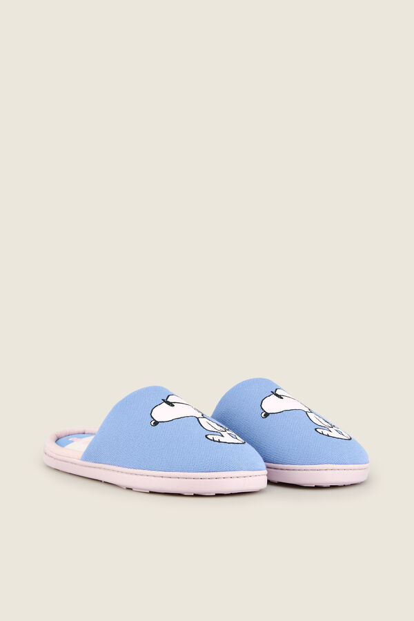bcb4ba1b9f Womensecret Zapatillas casa Snoopy azul