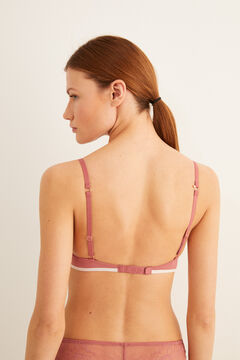 Womensecret Supersoft push-up bra pink