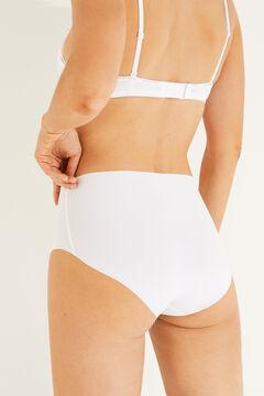 Womensecret High waist panties white