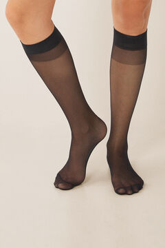 Womensecret Pack of 2 tights 20 DEN black