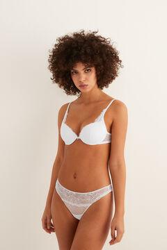Womensecret Classic lace bra white