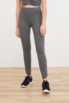 Womensecret Legging largo entrenamiento gris