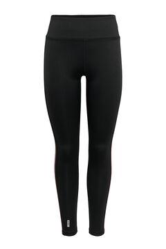 Womensecret Elasticated waist leggings black