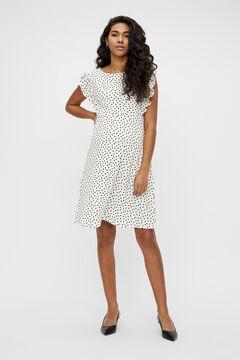 Womensecret Vestido maternity curto branco
