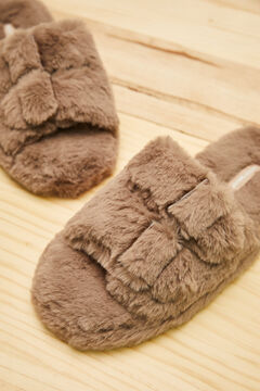 Womensecret Brown slippers nude