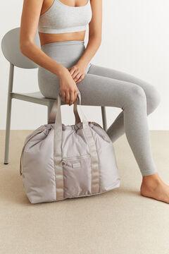 Womensecret Sac de gymnastique ergonomique marron