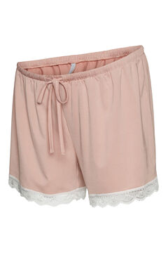 Womensecret Set pijama maternity rosa