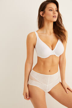 Womensecret Minimiser bra white