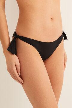 Womensecret Tanga bikini noir