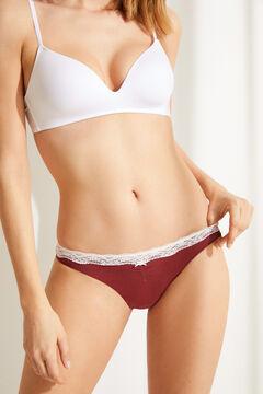 Womensecret 3-pack nude cotton Brazilian panties nude