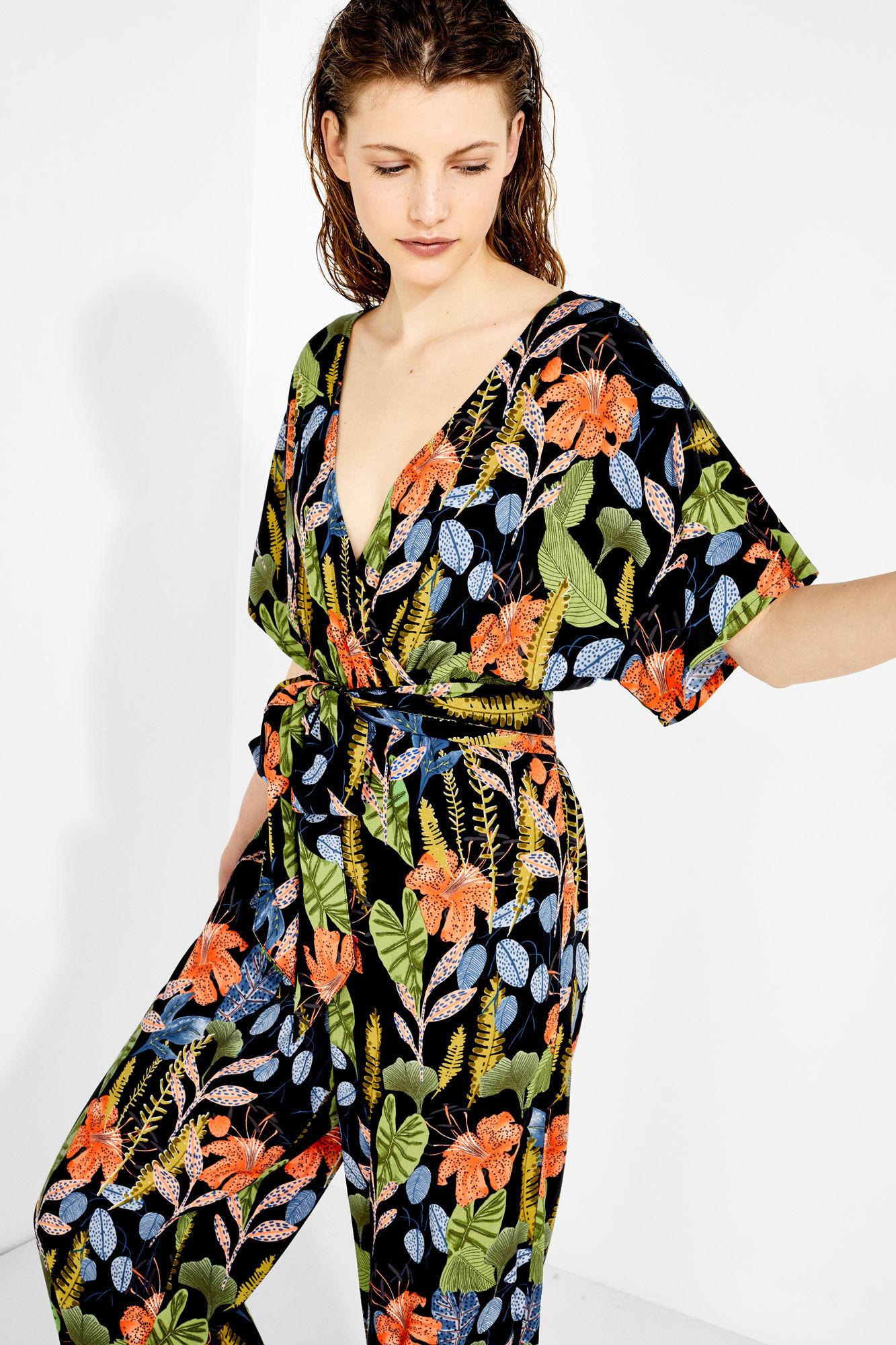 auténtica venta caliente color atractivo original mejor calificado Mono largo tropical | Vestidos y monos | Women'secret