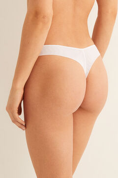 Womensecret Seamless thong white