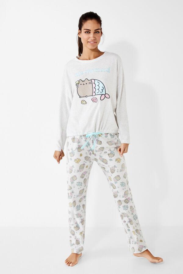 f73e8aa3ca Pusheen long cotton pyjama Night Suits in 2018