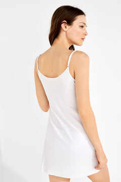 Womensecret Short slip dress white