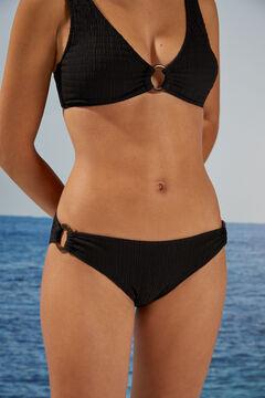 Womensecret Braga bikini negro sostenible negro
