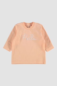 Womensecret Camiseta de bebé  burdeos