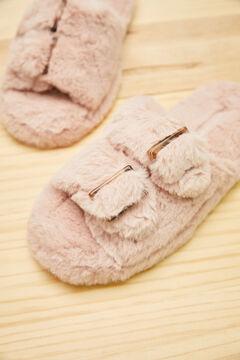 Womensecret Zapatillas abierta rosa rosa