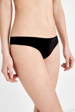 Womensecret Seamless thong black