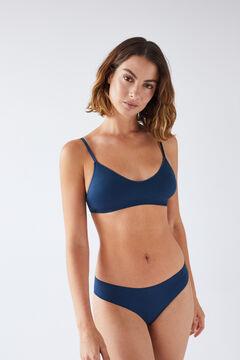 Womensecret NATURAL Blue triangle bra blue