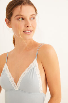 Womensecret Blue organic cotton body  blue