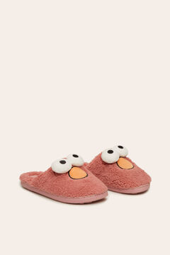 Womensecret 3D slingback Elmo slippers rose