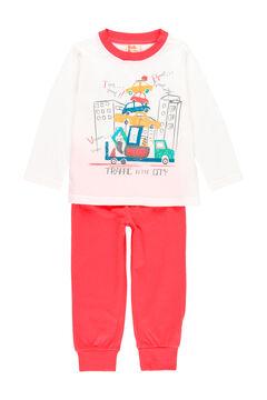 Womensecret Pijama malha para menino - orgânico branco