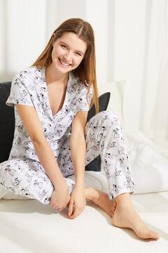 Womensecret Grey cotton 101 Dalmatians classic pyjamas grey