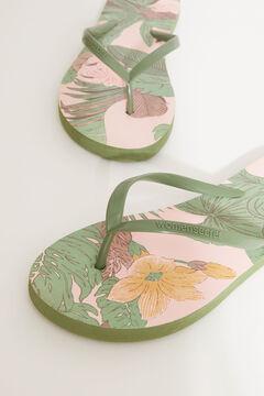 Womensecret Miffy flip-flops nude