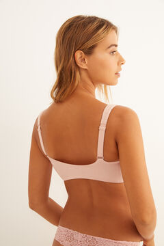 Womensecret Post-Surgery bra with fasteners pink
