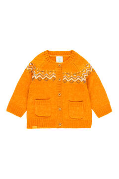"""Womensecret Casaco tricot """"ornamentos"""" impressão"""