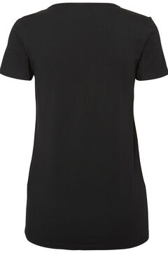 Womensecret 2-pack organic cotton maternity t-shirts black