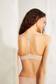 Womensecret T-back bra nude