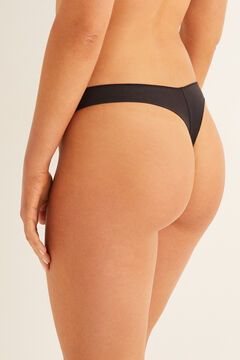 Womensecret Tanga invisible negro