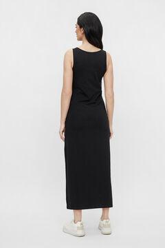 Womensecret Midi maternity dress black
