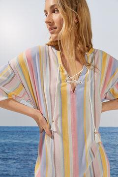Womensecret Multicoloured striped camisole white