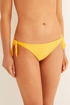 Womensecret Culotte bikini nouages imprimé