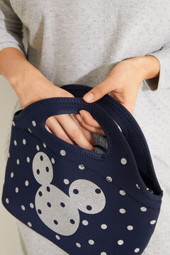 Womensecret Blue spotted Mickey lunch bag blue