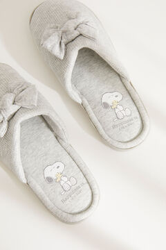 Womensecret Snoopy maternity shower sliders grey