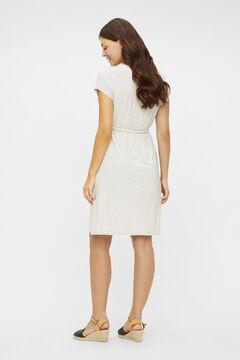 Womensecret Midi maternity dress white