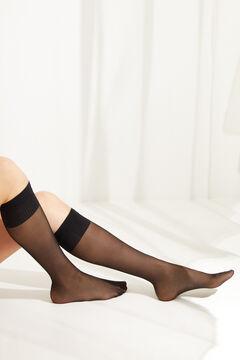 Womensecret Compression tights 20 denier black