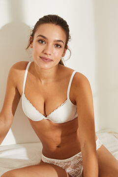 Womensecret BEAUTIFUL Classic white bra white
