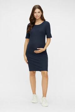 Womensecret Midi maternity dress blue