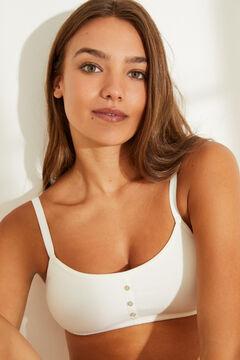 Womensecret White bra top  white