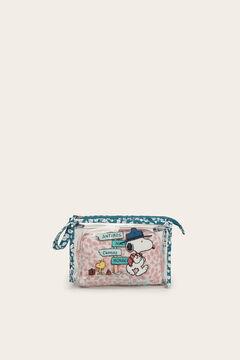 Womensecret Snoopy vanity cases 2-pack pink