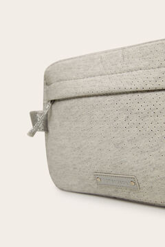 Womensecret Medium cutwork vanity case grey